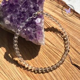 Clear Quartz Beaded Bracelet